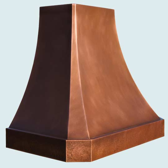 Copper  Range Hood  # 4362