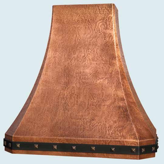 Copper  Range Hood  # 4406
