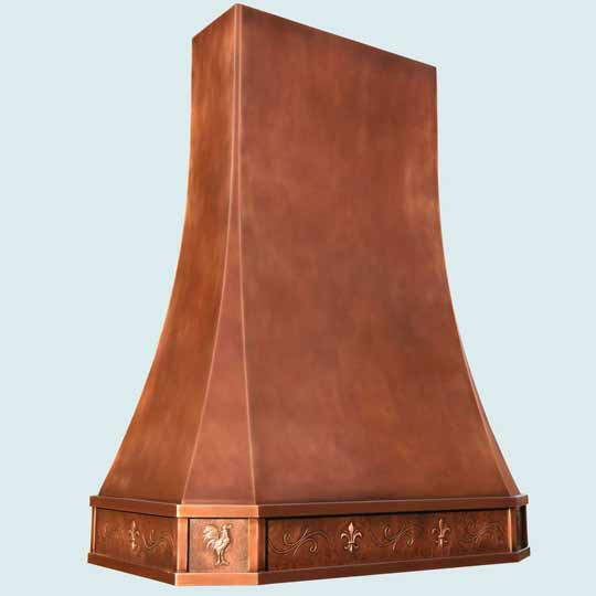 Copper  Range Hood  # 4433