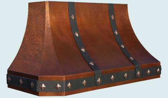 Copper  Range Hood  # 4460