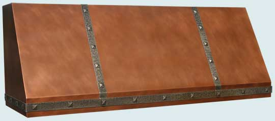 Copper  Range Hood  # 4577