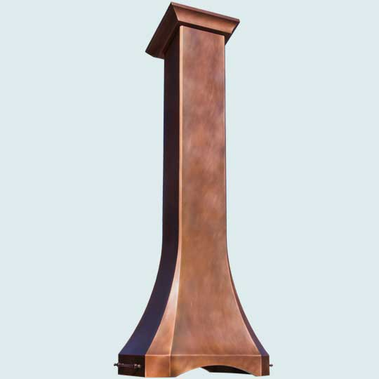Copper  Range Hood  # 4805