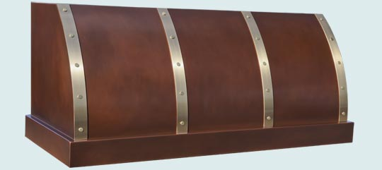 Copper  Range Hood  # 4809