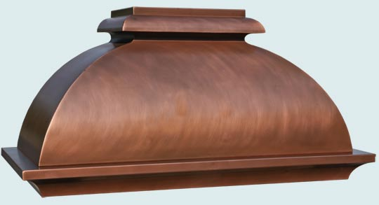 Copper  Range Hood  # 4866
