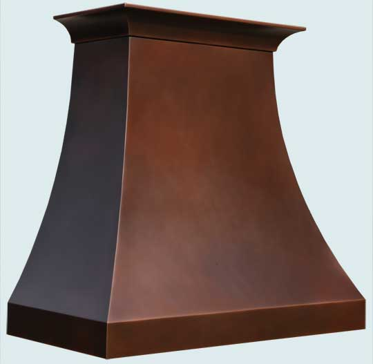 Copper  Range Hood  # 5065