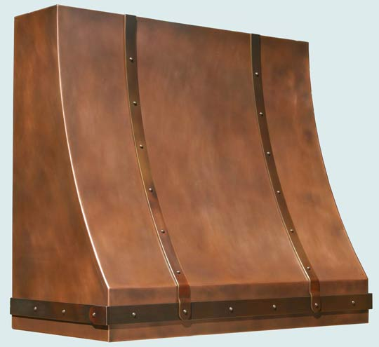 Copper  Range Hood  # 5140