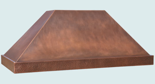 Copper  Range Hood  # 5204