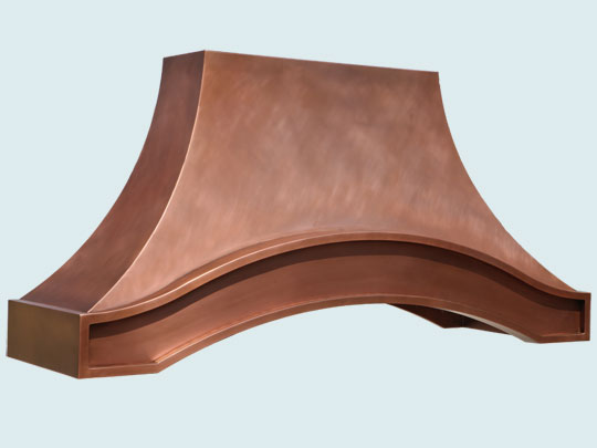 Copper  Range Hood  # 5371