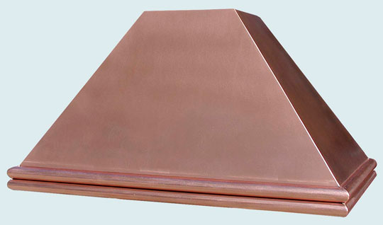 Copper  Range Hood  # 2570