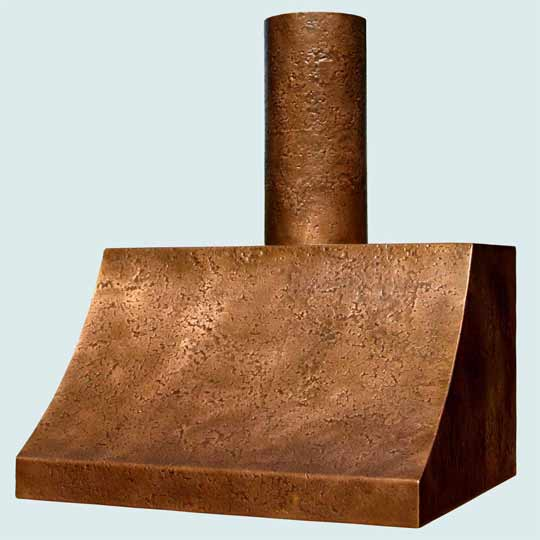 Copper  Range Hood  # 2504